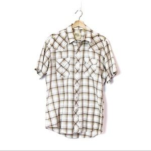 Vintage ELY CATTLEMAN Pearl Snap Country Shirt